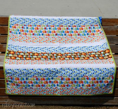 Finnley's baby quilt